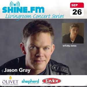Jason Gray - SHINE.FM Living room concert series