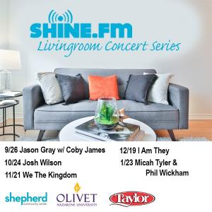 SHINE.FM Living Room Concert Series
