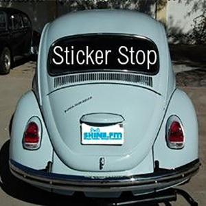 SHINE.FM Sticker Stop